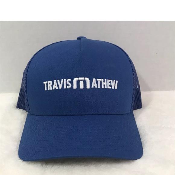 on sale d18dc 0b968 reduced mens travis mathew hat white 584c1 2ee7e  discount code for travis  mathew snapback trucker hat style d2826 8cb82